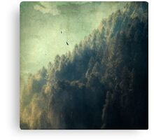 Tree Mountain Canvas Print