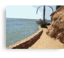 Beach Time in Egypt Canvas Print