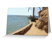 Beach Time in Egypt Greeting Card