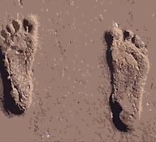 Footprints! by Lorren Stewart