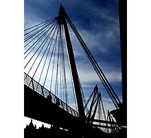 Golden Jubilee Bridge (London) Photographic Print