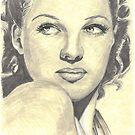 Rita Hayworth by Tony Heath