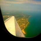 Airplane Window of Chicago by shoshgoodman