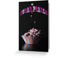 Sugar Pearls Greeting Card