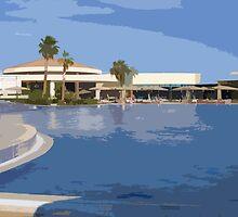 Jolie Ville Pool in Egypt! by Lorren Stewart