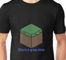 Minecraft Grass Block Design Unisex T-Shirt