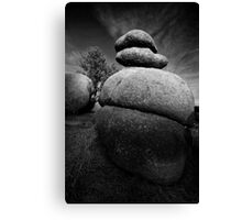 Bold Stack Canvas Print
