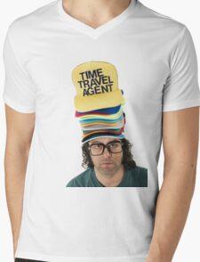30 Rock 'Frank The Hat Guy' Mens V-Neck T-Shirt