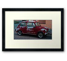 FIAT 2 Framed Print
