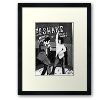 $5 Shake Framed Print