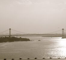 Verrazano Bridge; NY by shoshgoodman