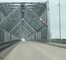 Super Structure! Burdekin Bridge, coast North Queensland. by Rita Blom