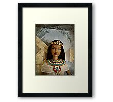 Egyptian Princess Barbie Framed Print