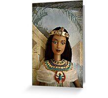 Egyptian Princess Barbie Greeting Card