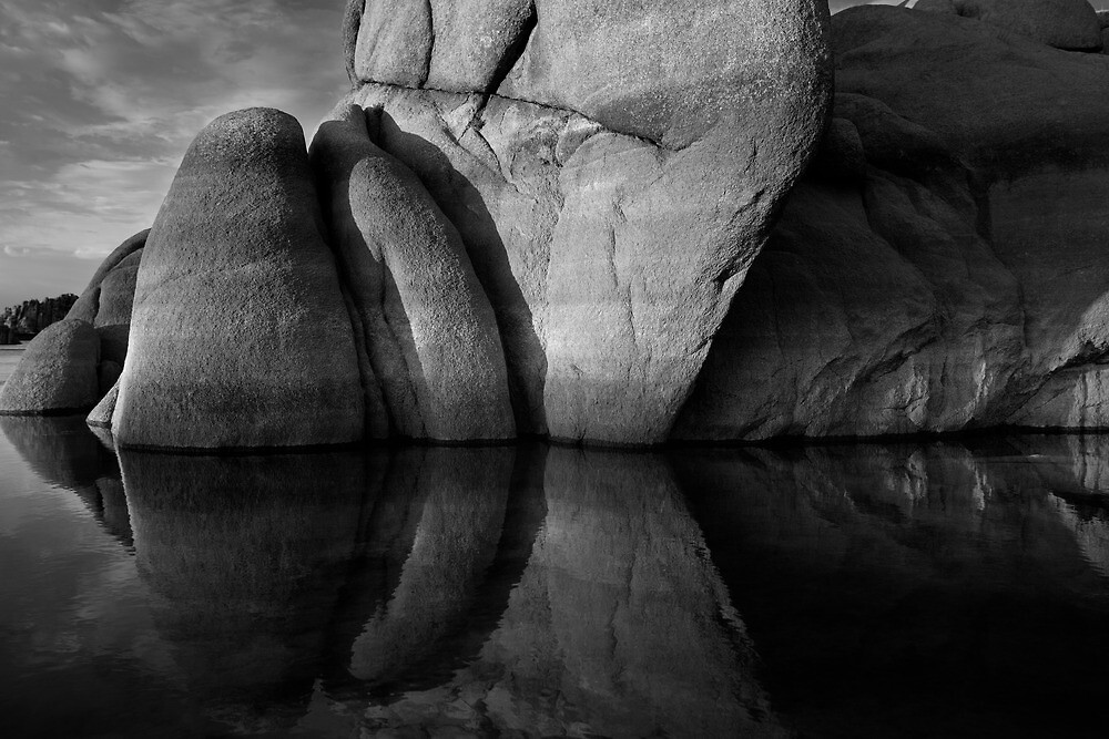 Closer Reveal-Black and White by Bob Larson
