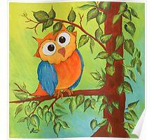 Whimsical Owl Poster