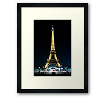 Paris at night- Eiffel Tower Framed Print