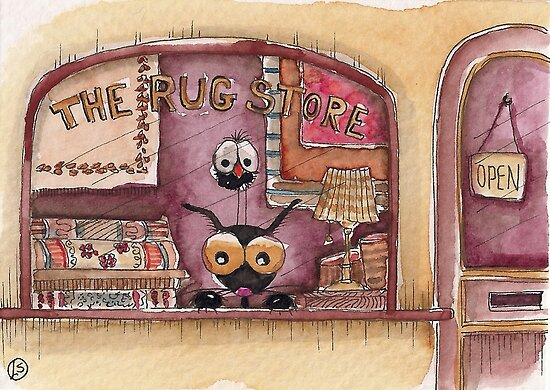 The Rug Store by StressieCat