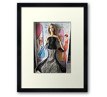 Society Girl Barbie, Full Doll View, Style Set Collection Framed Print