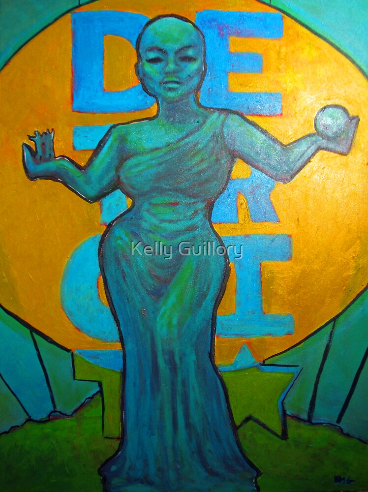 Spirit of Detroit by Kelly Guillory
