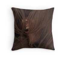 Trapped By Self Loathing Throw Pillow