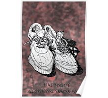 my old running shoes...  Poster