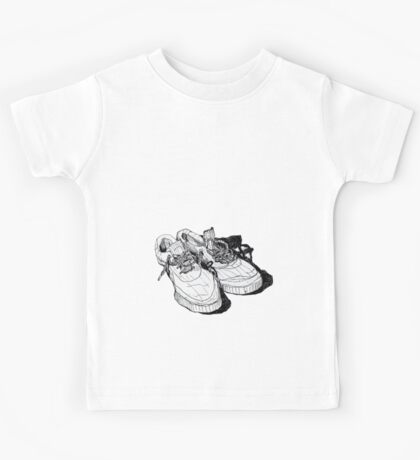 my old running shoes...  Kids Tee