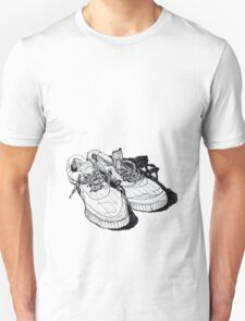 my old running shoes...  Unisex T-Shirt