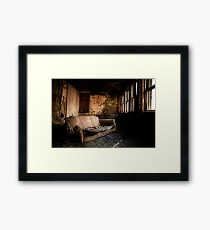 I Dislike Vacuuming Framed Print