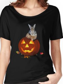 Halloween Bunny Rabbit Women's Relaxed Fit T-Shirt