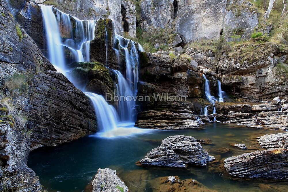 Cave Creek Falls .Bimberi Wilderness by Donovan Wilson