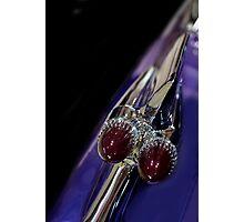 Purple Bullet Photographic Print