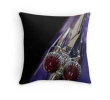 Purple Bullet Throw Pillow