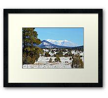 San Francisco Mountains Framed Print