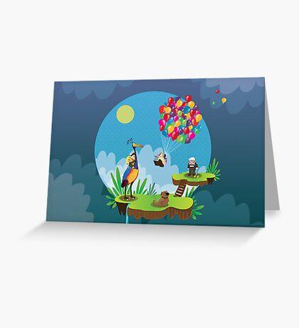 Up fanart Greeting Card