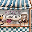 Pete's Fish and chips by StressieCat