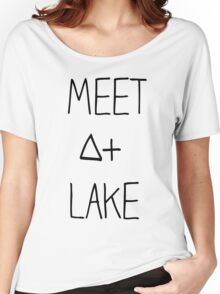 Meet At Lake (SALE) Women's Relaxed Fit T-Shirt