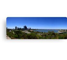 Perth Panorama Canvas Print
