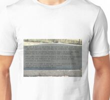 My Mother, Mary Jane Young's, Gravestone Unisex T-Shirt