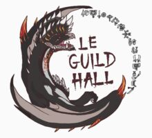 Monster Hunter Le Guild Hall-Alatreon Version 2 Colored by S4LeagueProps