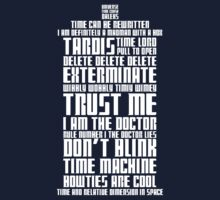 The Doctor Tardis One Piece - Short Sleeve