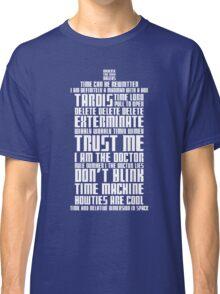 The Doctor Tardis Classic T-Shirt