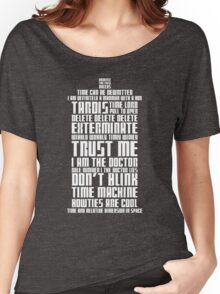 The Doctor Tardis Women's Relaxed Fit T-Shirt