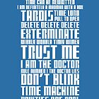 The Doctor Tardis by tombst0ne