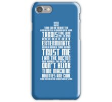 The Doctor Tardis iPhone Case/Skin