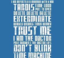 The Doctor Tardis Grunge version by tombst0ne