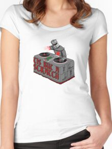 Tis Tis Tis But A Scratch Women's Fitted Scoop T-Shirt