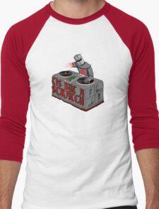 Tis Tis Tis But A Scratch Men's Baseball ¾ T-Shirt