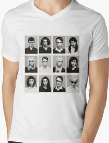 YEARBOOK (Complete Grid) Mens V-Neck T-Shirt