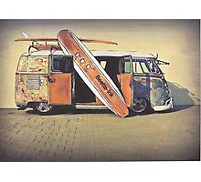 Kombi Love Photographic Print